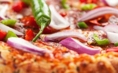 Pizza peperoni e tropea
