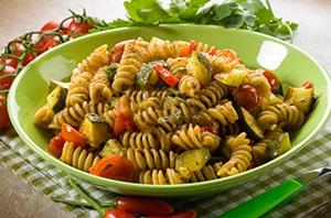 Pasta con zucchina siciliana
